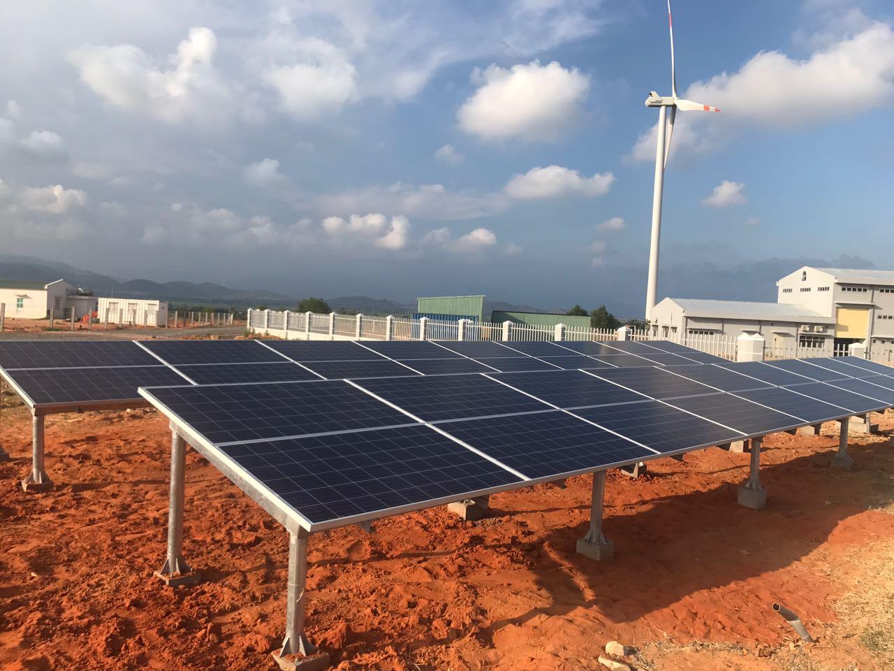 Kết quả hình ảnh cho dự án điện mặt trời khánh hòa